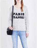 Claudie Pierlot Tod cotton-blend sweatshirt