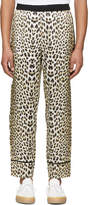 3.1 Phillip Lim Reversible Navy and Leopard PJ Trousers