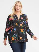 Old Navy Lightweight Plus-Size Popover Tunic
