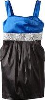 Ruby Rox Kids Girls 7-16 Caviar Beaded Waist Pocket Dress