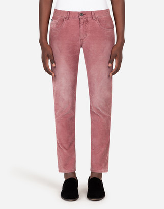 Dolce & Gabbana Five-Pocket Cotton Pants