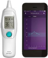 Avent Naturally Philips SCH740/86 UGrow Smart Ear Thermometer