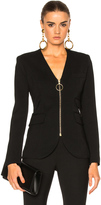 Smythe Collarless Blazer Jacket