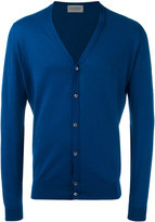 John Smedley classic knitted cardigan - men - Cotton - M