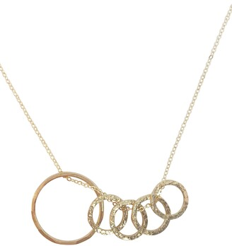 Nashelle Identity Mama & Child 5-Hoop Necklace