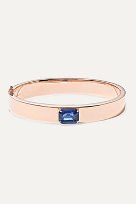 Anita Ko 18-karat Rose Gold Sapphire Bracelet