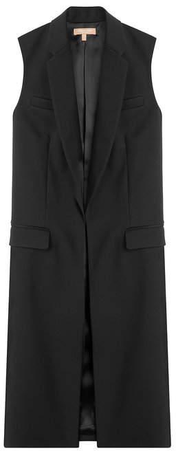 Michael Kors Sleeveless Wool Coat