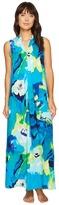 N by Natori - Blooming Mural Maxi Gown Women's Pajama