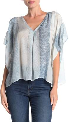 Frye Pleated Boxy Top