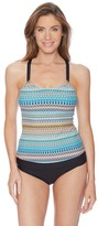 Next Soul Energy Third Eye Shirred Tankini Top
