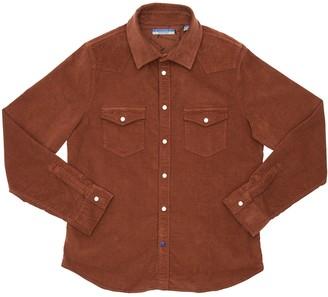 Jacob Cohen Cotton Blend Corduroy Western Shirt