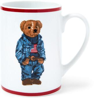 Ralph Lauren Denim Polo Bear Mug