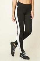 Forever 21 Active Side Stripe Leggings