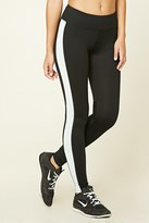 Forever 21 FOREVER 21+ Active Side Stripe Leggings