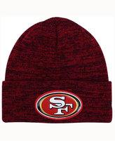 New Era San Francisco 49ers Beveled Team Knit Hat