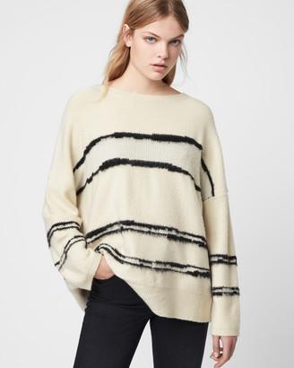 AllSaints Tara Stripe Jumper