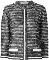 D-Exterior D.Exterior - collarless cropped jacket - women - Cotton/Polyamide/Polyester/Viscose - S