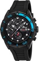 Lotus Men's Crono L15678/5 Resin Analog Quartz Watch with Dial