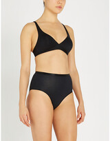 Thumbnail for your product : Hanro Sensation soft cup stretch-cotton bra
