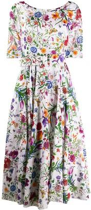 Samantha Sung Aster floral print dress