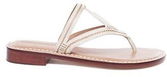 Bernardo Tania Ivory Thong Sandal