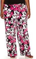 Disney Minnie Mouse Fleece Pajama Pants-Juniors Plus