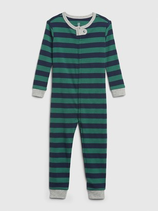 Gap babyGap Stripe Footless One-Piece
