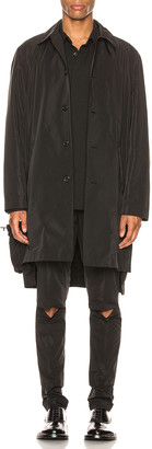 Undercover Overcoat in Black | FWRD