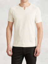 John Varvatos Pima Cotton Raglan Sweatshirt