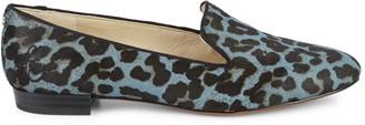 Sam Edelman Jordy Leopard Calf Hair Loafers