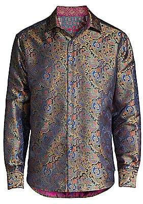 Robert Graham Men's Auguste Classic-Fit Limited Edition Silk Sport Shirt