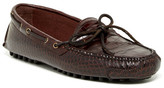 Cole Haan Gunnison II Driving Croc Embossed Leather Loafer