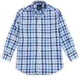 Tailorbyrd &Blackberry& Check Woven Dress Shirt (Big Boys)