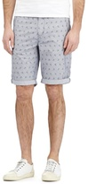 Red Herring Blue Anchor Print Shorts