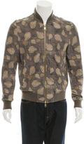 Marc Jacobs Pear Print Bomber Jacket