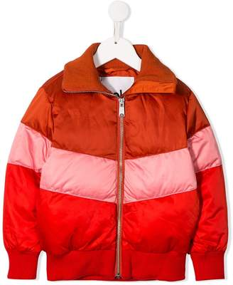 Molo Kids colour block padded jacket