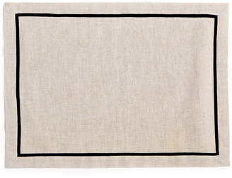 Hotel Collection Modern Contrast Linen Placemat, Created for Macy's