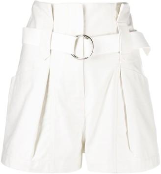 IRO Paperbag-Waist Shorts