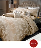 By Caprice Butterfly Champagne Duvet Cover
