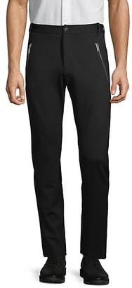 Karl Lagerfeld Paris Flat-Front Zipper Pocket Pant
