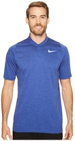 Tiger Woods Golf Apparel by Nike Nike Golf Velocity Max Dri-Fit Cotton Blade Men's Short Sleeve Pullover