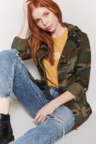 Forever 21 Camo Button-Front Jacket