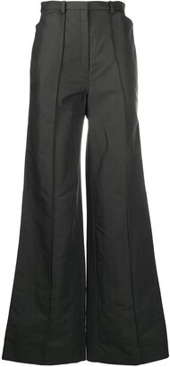 Lemaire High-Waisted Flared Trousers