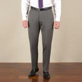 J By Jasper Conran Silver Grey Semi-plain Tailored Fit Trouser