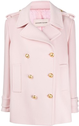Alexandre Vauthier Double Breasted Military Jacket