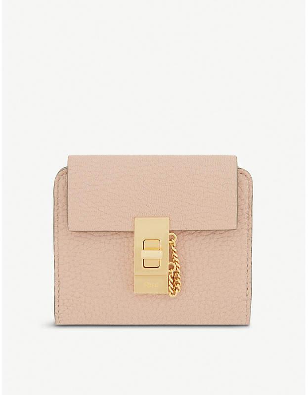 Chloé Drew square leather purse