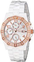 Jivago Women's JV0420 Prexy Analog Display Swiss Quartz White Watch