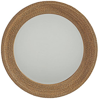 Barclay Butera La Jolla Woven Round Wall Mirror - Rope