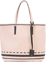 Tod's braided detail tote - women - Leather - One Size