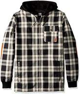 DC Men's Backwoods Insulated Flannel Shirt Water Proof Snowboard Jacket